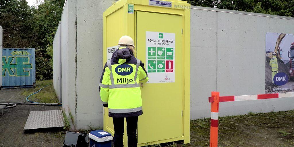 Sikkerhedsrunderinger på byggepladser - arbejdsmiljø