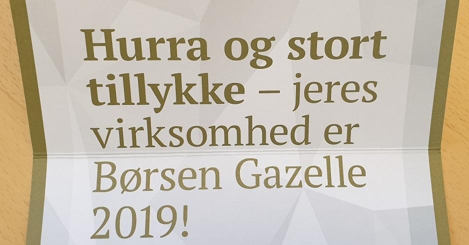 DMR er Gazellevirksomhed igen i 2019