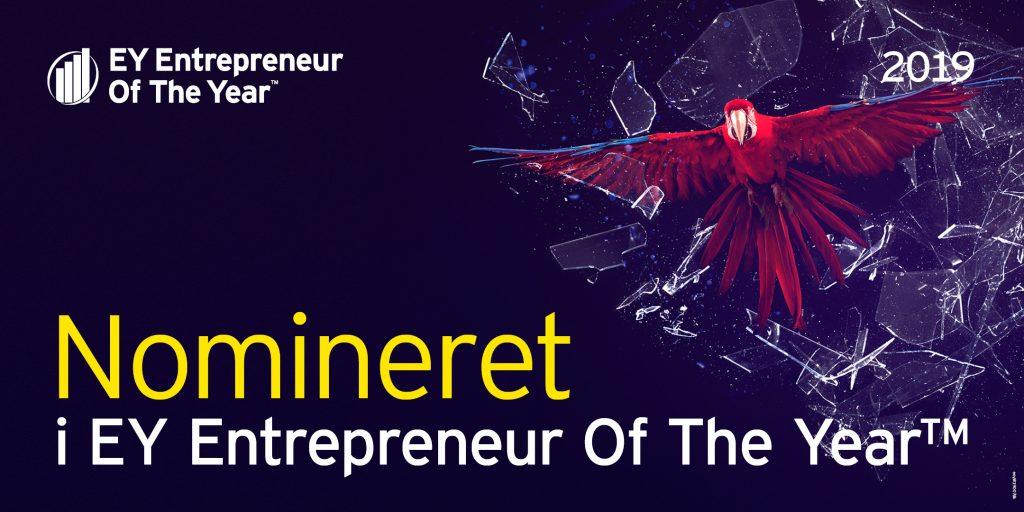 DMR deltager i konkurrencen EY Entrepreneur Of The Year 2019