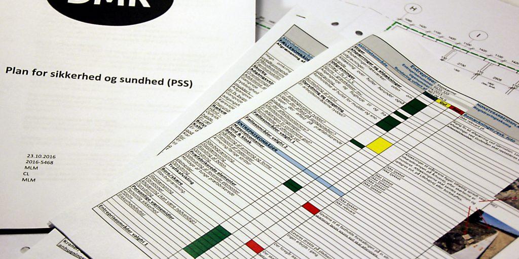 Basis APV, beredskabsplan, arbejdsprocedurer - rådgivning