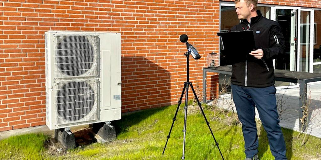 Støj fra varmepumper, ventilation, fyringsanlæg m.v.