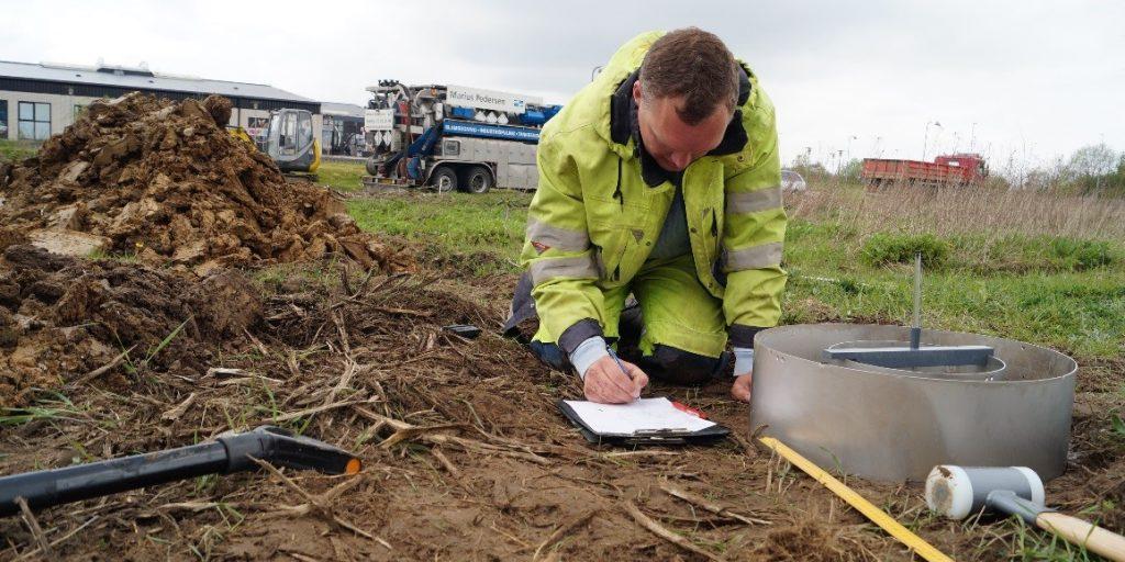 Regnvandsnedsivning -undersøgelse og rådgivning