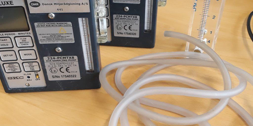 Støv og partikler i arbejdsmiljøet - måling og rådgivning