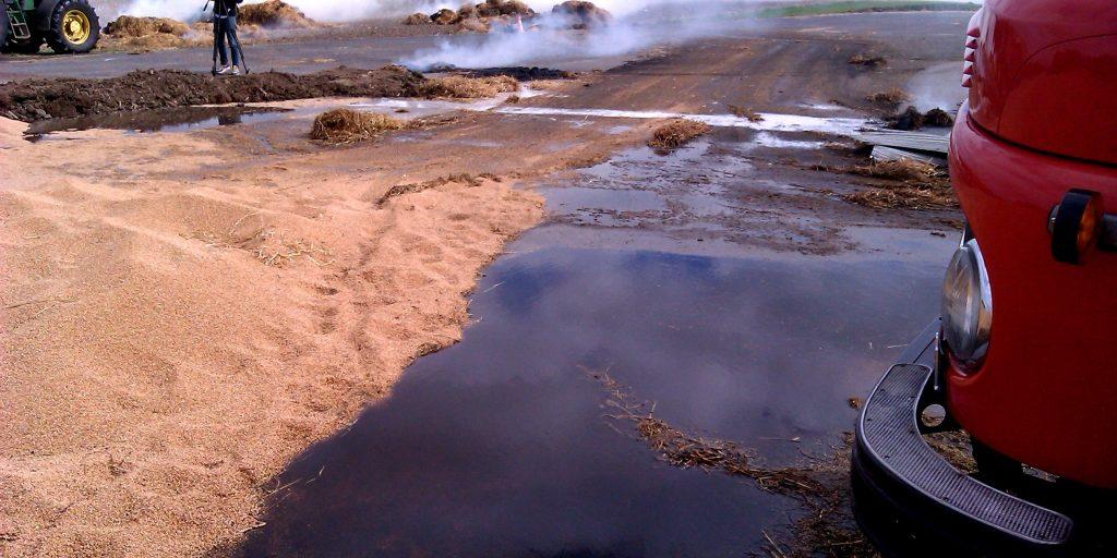 Akut og pludselig forurening -rådgivning og hjælp